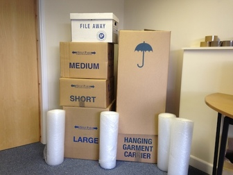 Bedwas Self Storage Packaging
